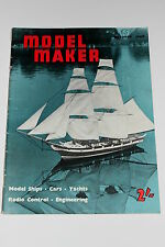 Vintage Model Maker & Model Cars October 1960, Rear Engine BRM/Mini Submarine