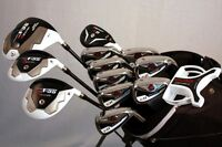 NEW CUSTOM TI-11 IRON SET 4-SW DRIVER WOODS PUTTER HYBRID BAG MENS GOLF CLUBS