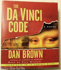 The Da Vinci Code Audiobook Read by Paul Michael Unabridged on 13 Compact Disks