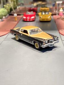 JOHNNY LIGHTNING 1972 HURST SSJ GRAND PRIX BLACK And Gold 1/64 Loose Metal Tomy