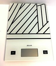 Zelus 11Lb  Digital Electronic Glass Kitchen Cooking Food Parcel Weighing Scale
