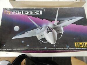Heller 1/72 scale YF-22A Lightning II