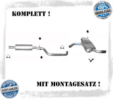 Endschalldämpfer Auspuff   Audi  A3  Bj 05//2003-06//2008 1.6 3-Tür