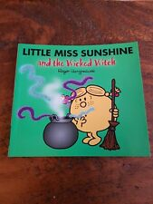Little Miss Sunshine and the Wicked Witch by Roger Hargreaves withadded Sparkle