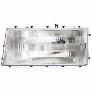 New Headlight (Driver Side) for Plymouth Acclaim 1989 to 1995