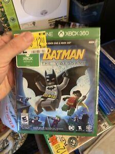 LEGO BATMAN XBOX ONE & XBOX 360 - FACTORY SEALED