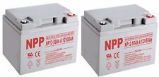 NPP NP12-50Ah A 12V 50Ah  Wheelchair Battery / (2pcs)