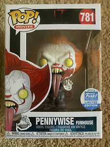 Funko Pop Movies Pennywise Funhouse from IT  Funko Limited Edition #781 IN STOCK