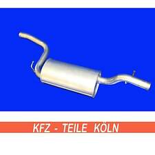 Ford - Focus / C - Max - 2.0/1.6 Ti / 1.8/1.8 Flexifuel - Middle Silencer
