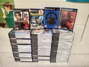 77 x PS2 Games Job Lot - PlayStation Bully Persia Rayman Spiderman GTA Tekken