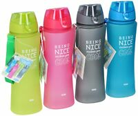 Being Nice Makes You Cool Water Bottle Sports Summer Home Cycling Home Drinking