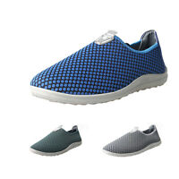 Men Breathable Mesh Loafers Beach Sneaker slip on Casual Athletic Running Shoes