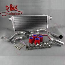 Red Intercooler+Aluminum Pipe Kit for Nissan Silvia S13 180SX CA18DET FMIC 89-91