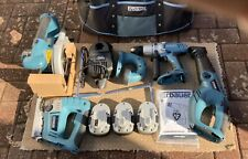 Erbauer 18v Cordless 10 Piece Power Tool Kit