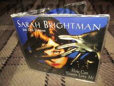 How Can Heaven Love Me Remixes Rare European CD single Sarah Brightman 1996 Fly