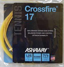 NEW! Ashaway Crossfire 17 Tennis String Hybrid Technology 17 gauge 1.25 mm
