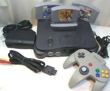 Nintendo 64 N64 console gioco 64 bit completa + 3 giochi in cartuccia Pal