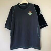 FC REAL BETIS 2001/2002 AWAY FOOTBALL JERSEY CAMISETA SOCCER SHIRT KAPPA