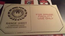 Battlestar Galactica Range sheets Loot Crate June 2015 + NerdHQ Stickers