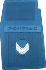 OER Reproduction Blue Rubber Floor Mat Set 1970-1972 Pontiac Firebird Trans AM