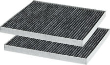 2 PACK Hyundai & Kia CARBON Cabin Air Filter Fits OEM 08790-2E200-A 97133-2E210