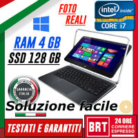PC NOTEBOOK DELL ULTRABOOK XPS 12 9Q33 CPU i7-4° 4GB RAM SSD 128GB TABLET TOUCH
