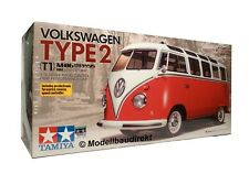 VW Samba Bus T1 Typ 2 M-06 Chassis RC Elektro Bausatz 1:10 Tamiya 58668 NEU & OV