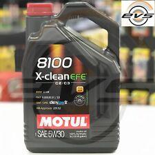 5 Litri Olio Motore MOTUL 8100 X-CLEAN 5W30 EFE C2 C3 SINTET FIAT 9.55535-S1/S3