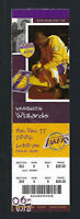 2006 NBA WIZARDS @ LOS ANGELES LAKERS FULL TICKET - KOBE BRYANT 45 PTS - DEC 17