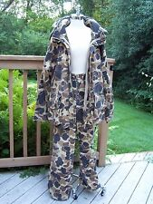Columbia Camo Hunting Jacket Pants Gortex Lined Thinsulate XL Outfit Vtg 1990