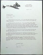 Duane & Judy Cole Noted Aerobatic Pilot 'Cole Brothers Airshows' Signed Letters