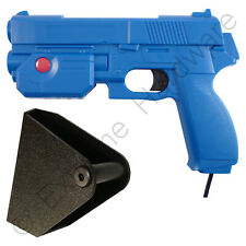 Ultimarc AimTrak Blue Arcade Light Gun with Line of Sight Aiming & Side Holster