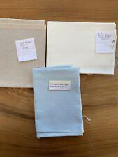 Cross Stitch Fabric Linen 28ct Ice Blue/32ct Antique White/32ct Platinum New