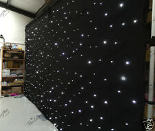 20ftx10ft Black LED Wedding Starlight Backdrop Curtain for Sale (6mx3m)