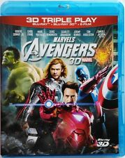 Blu-ray Marvel's The Avengers (3D + 2D) 2012 Usato