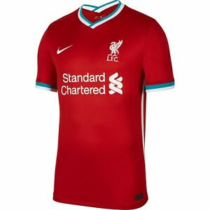 Genuine NIKE Liverpool Junior Unisex Kid's Home Shirt 2020 - 2021