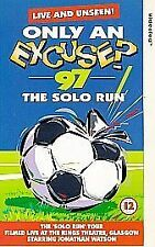 Only An Excuse? - '97 - The Solo Run (VHS, 1997) Football comedy video