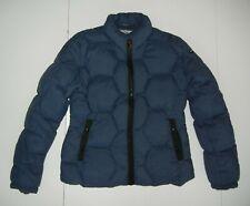 MECCA Navy Blue Warm DOWN WINTER JACKET Hiking Puffer Ski Coat Sz Women's SM