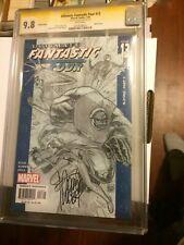 Ultimate Fantastic Four #13 Sketch cover CGC SS 9.8 signed Adam Kubert Variant