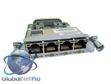 CISCO HWIC-4ESW - Four port 10/100 Ethernet switch interface - LIFETIME WARRANTY