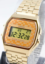 Casio A-159WGEA-9 Classic Digital Gold Tone Watch Stainless Steel New