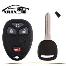 Replacement for GMC Acadia Savana Sierra Remote Key Fob+Car Key with 46 Chips