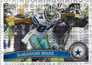 2011 Topps Chrome Xfractor #179 DeMarcus Ware - Dallas Cowboys