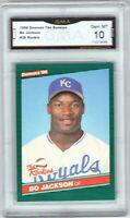 "GMA 10 Gem Mint BO JACKSON 1986 DONRUSS ""The Rookies"" ROOKIE XRC CARD! LEGEND!"