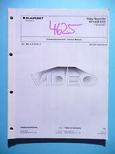 MANUAL DE Manual de servicio para Blaupunkt rtv-830 / Panasonic nv-f77, original