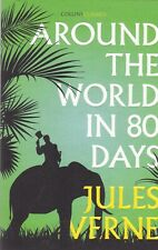 AROUND THE WORLD IN EIGHTY DAYS by JULES VERNE - NEW PAPERBACK BOOK