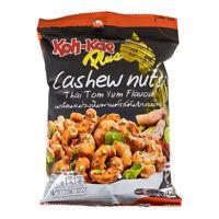 Koh-Kae Plus Selected Quality Snacks Halal Cashew Nuts Thai Tom Yum Flavour 30g
