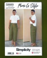 NEW! Shirt & Pants Sewing Pattern~Mimi G Style (Sizes 16-24) Simplicity 8889
