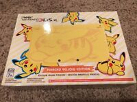 NEW SEALED Nintendo 3DS XL Pikachu Yellow Edition Console Limited