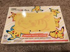 BRAND NEW Nintendo 3DS XL Pikachu Yellow Edition Console Limited